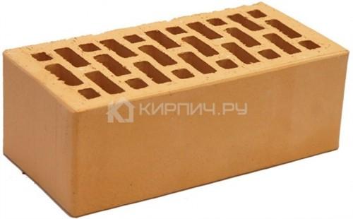 Кирпич НЗКМ абрикос полуторный гладкий М-150