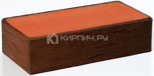 Кирпич для фасада баварская кладка темный одинарный полнотелый руст М-200 Пятый Элемент