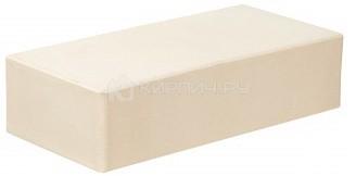 Кирпич облицовочный белый одинарный гладкий полнотелый М-250 СтОскол