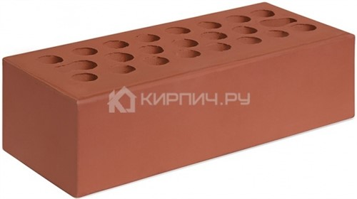 Кирпич для фасада бордо евро гладкий М-150 Керма