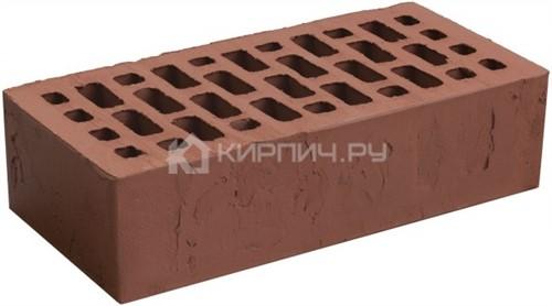 Кирпич Браер бордо одинарный терра М-150