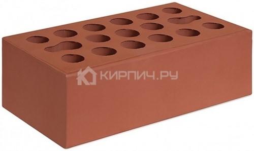 Кирпич Керма бордо полуторный гладкий М-150