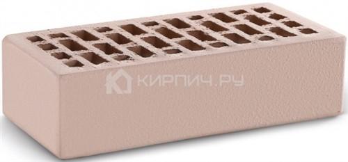 Кирпич для фасада камелот терракот одинарный гладкий М-150 КС-Керамик