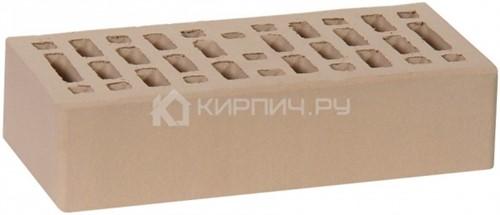Кирпич для фасада капучино одинарный гладкий М-150 Ростов