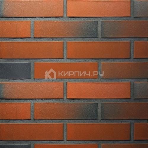 Кирпич для фасада керамический Terca (Wienerberger) RED flame гладкий 250х85х65