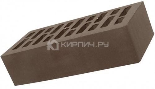 Кирпич евро размер корица гладкий М-200 Липецк