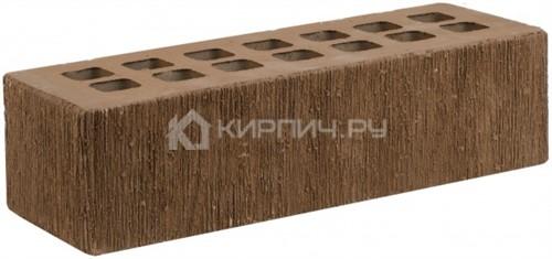 Кирпич евро размер коричневый дерево М-175 ЖКЗ