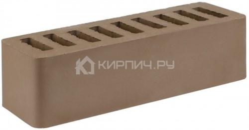 Кирпич облицовочный коричневый евро гладкий М-150 СтОскол
