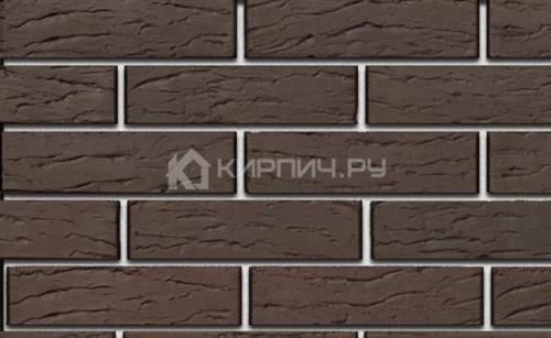 Кирпич для фасада коричневый евро риф М-150