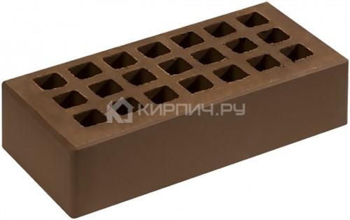 Кирпич облицовочный коричневый одинарный гладкий М-150 Саранск