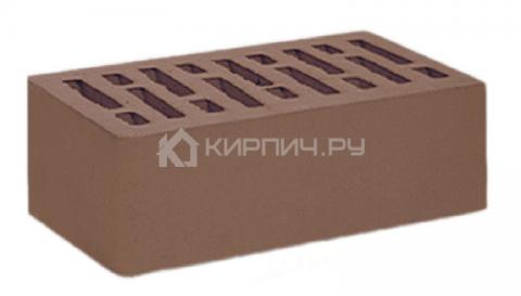 Кирпич  М-150 коричневый одинарный гладкий СтОскол