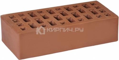 Кирпич облицовочный коричневый одинарный гладкий М-175 ГКЗ