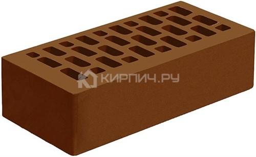 Кирпич Голицынский коричневый одинарный гладкий М-175