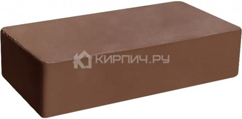 Кирпич М-300 коричневый одинарный гладкий полнотелый ГКЗ