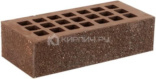 Кирпич для фасада коричневый одинарный пена алмаз М-175 ЖКЗ