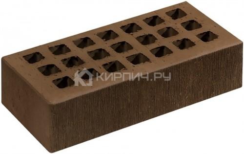 Кирпич СЗЛК (Саранск) коричневый одинарный шероховатый М-150