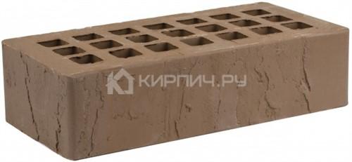 Кирпич для фасада коричневый одинарный скала М-175 ЖКЗ