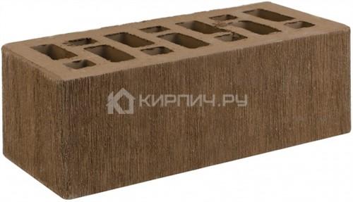 Кирпич облицовочный коричневый полуторный бархат М-150 СтОскол