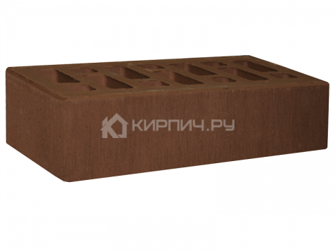 Купить Кирпич для фасада коричневый полуторный бархат М-150 СтОскол дешевле