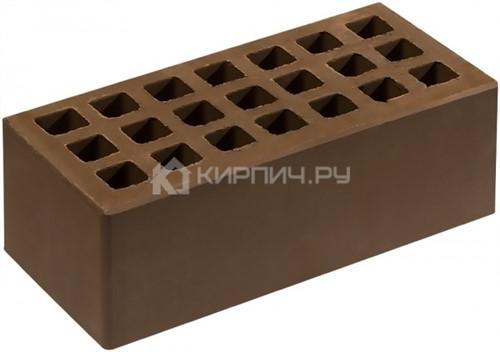 Кирпич для фасада коричневый полуторный гладкий М-150 Саранск