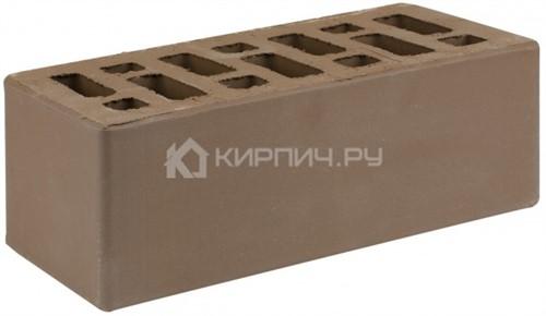 Кирпич для фасада коричневый полуторный гладкий М-150 СтОскол