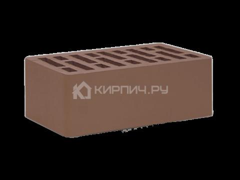 Кирпич  М-150 коричневый полуторный гладкий СтОскол