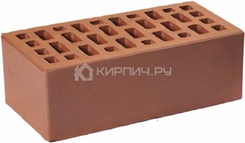 Кирпич для фасада коричневый полуторный гладкий М-175 ГКЗ