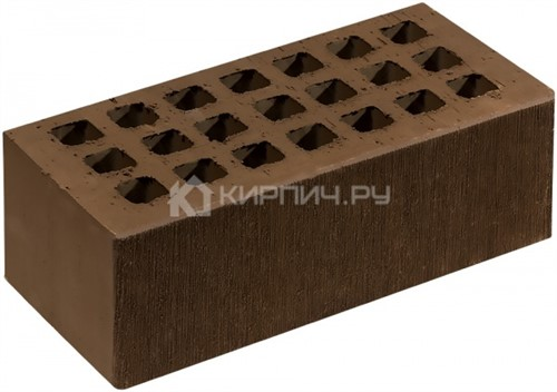 Кирпич СЗЛК (Саранск) коричневый полуторный шероховатый М-150