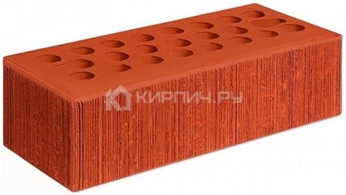 Кирпич облицовочный красный евро бархат М-150 Керма