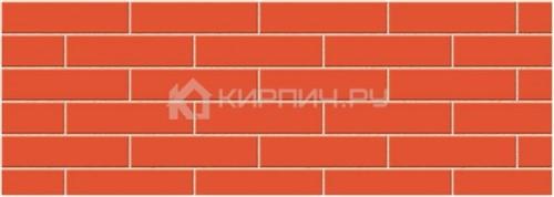Кирпич облицовочный красный евро гладкий М-150 Керма