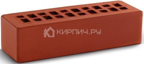 Кирпич евро размер красный гладкий М-150 КС-Керамик