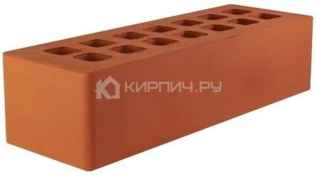 Купить Кирпич евро размер красный гладкий М-175 ЖКЗ дешевле