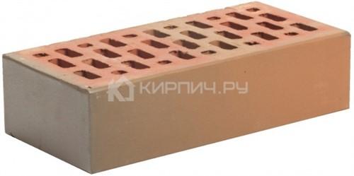 Кирпич облицовочный красный флеш одинарный гладкий М-150 Магма