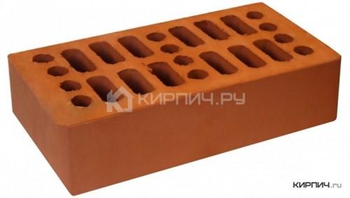 Кирпич облицовочный красный одинарный гладкий М-150 Кострома