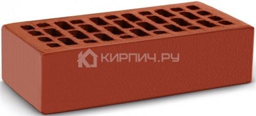 Кирпич одинарный красный гладкий М-150 КС-Керамик