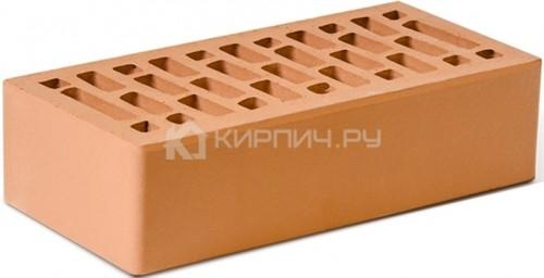 Кирпич для фасада красный одинарный гладкий М-150 Ростов