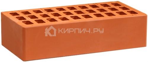 Кирпич для фасада красный одинарный гладкий М-150  Воротынск