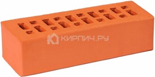 Кирпич для фасада красный одинарный гладкий М-175 ГКЗ