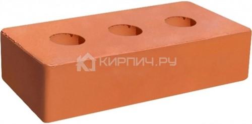Кирпич для фасада красный одинарный гладкий полнотелый М-250 ГКЗ