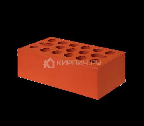 Кирпич облицовочный красный полуторный рустик М-150 Керма
