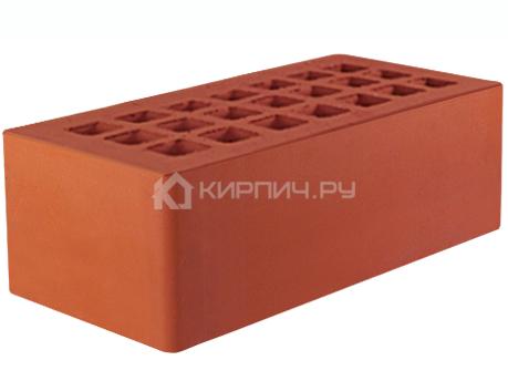 Кирпич облицовочный красный полуторный скала М-175 ЖКЗ