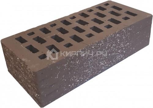 Кирпич одинарный мокко рустик с песком М-150 Терекс