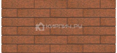 Кирпич Керма Premium Russet wood одинарный кора дуба амфиболит М-175