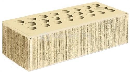 Кирпич для фасада пшеничное лето полуторный бархат М-150 Керма