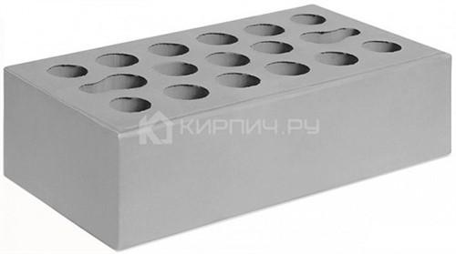 Кирпич одинарный серебро гладкий М-150 Керма