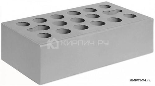Кирпич Керма серебро одинарный гладкий М-150