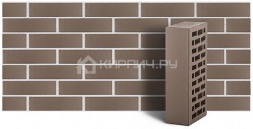 Кирпич одинарный серый гладкий М-150 ЛСР