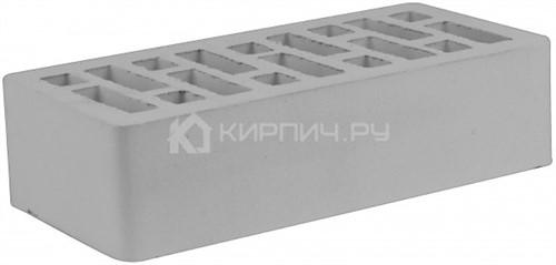 Кирпич одинарный серый гладкий М-150 СтОскол