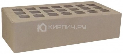 Кирпич для фасада серый одинарный гладкий М-175 ЖКЗ