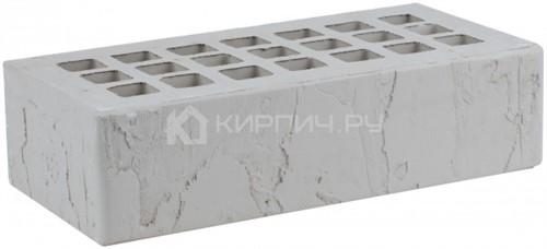 Кирпич для фасада серый одинарный скала М-175 ЖКЗ
